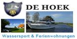 De Hoek Wassersport in Friesland