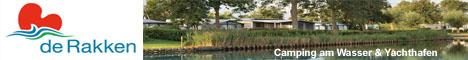 Camping mit De Rakken in Friesland